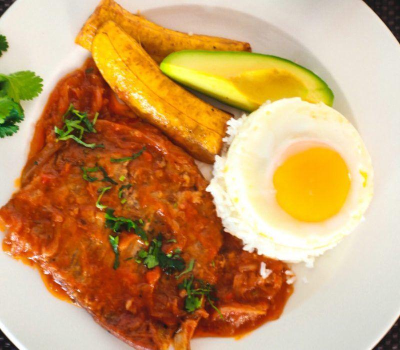 Sobrebarriga en salsa, restaurante colombiano en Benidorm