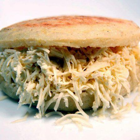 Arepa con queso en Benidorm