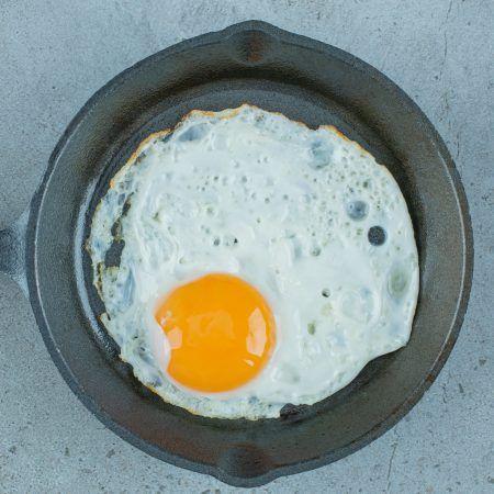 Huevo frito en Benidorm
